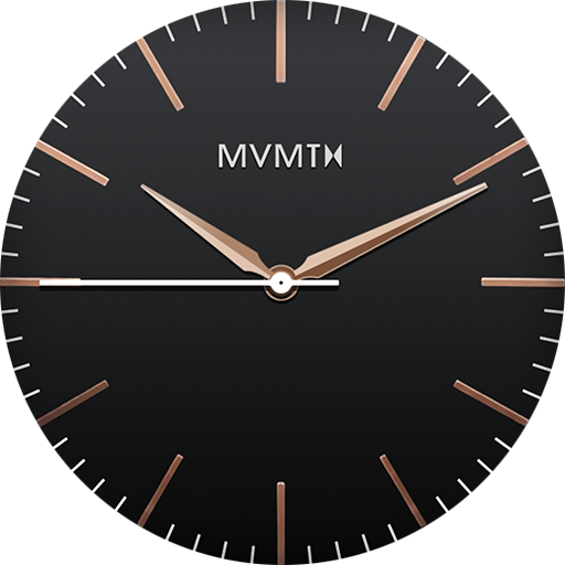 MVMT - 40 Series - Black Rose Gold