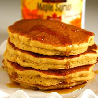 Vegan Peanut Butter Pancakes.