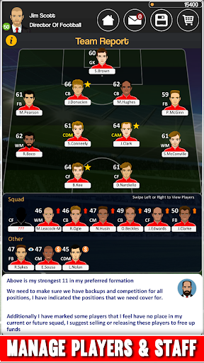 Club Soccer Director - Soccer Club Manager Sim 2.0.8e Screenshots 6