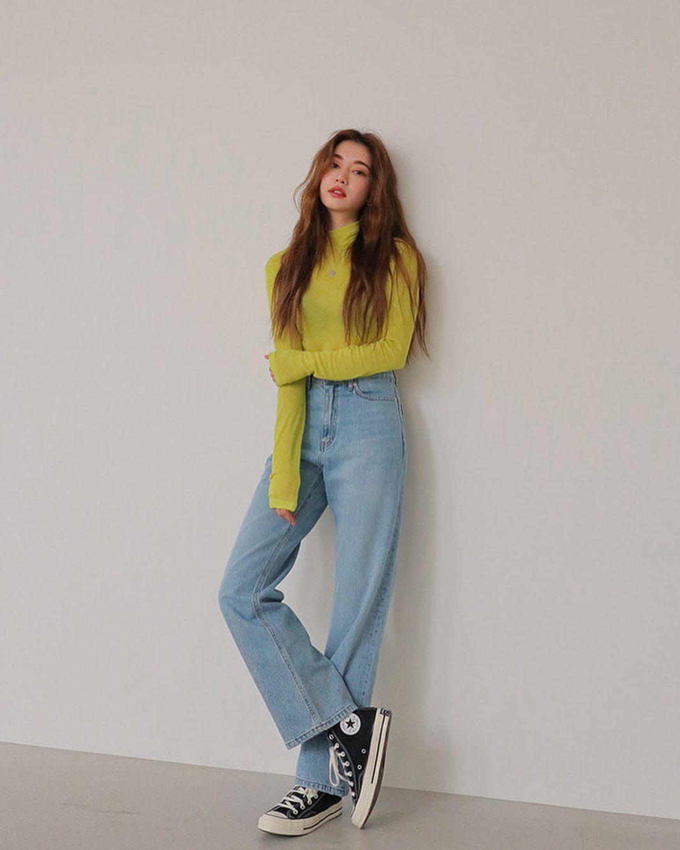 quần jean ống rộng