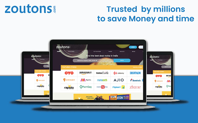 Zoutons Coupon finder