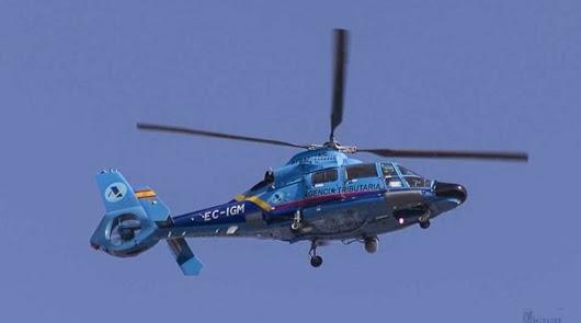Muere un operador de Aduanas tras caer de un helicóptero persiguiendo a narcos