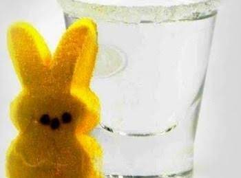 Easter Peeps Cocktail Shot Recipe