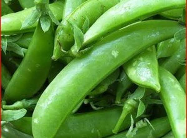 Snap Pea's With Tarragon Dressing Recipe