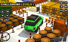 screenshot of Car Parking Games Offroad Glory