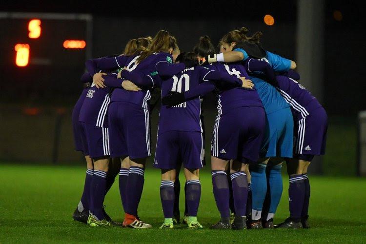 Un soutien massif pour la Ligue des Champions féminine des Anderlechtoises?