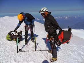 Photo: Ahora sí. Ya no hay nada más alto. Nos podemos quitar las mochilas. Y descansar.
