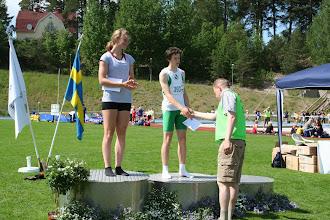 Photo: Sixten Borgs Stiftelses pris till Martina Salander, Fredrikshofs FIF och Tim Rådberg, Sundbybergs IK