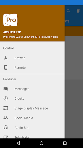 Screenshot for ProPresenter Remote in United States Play Store