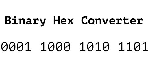 Binary Hex Converter - Apps on Google Play
