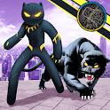 Multi Panther Stickman Rope Hero Terrorist Mafia icon