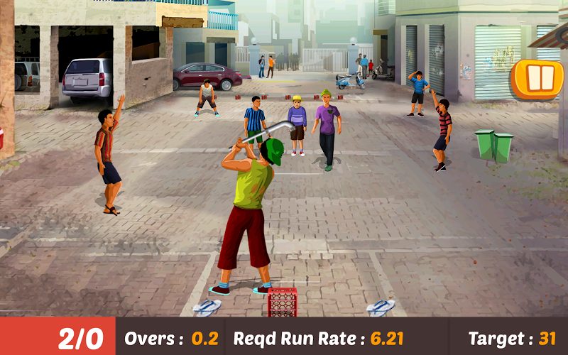 Gully Cricket Game - 2019 Cheat APK MOD Free Download 1.8