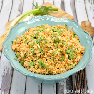 Easy Spicy Unfried Rice