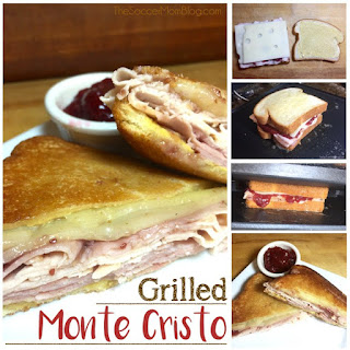 Grilled (Not Fried!) Monte Cristo Sandwich