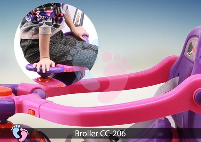 Xe chòi chân trẻ em Broller CC 206 9