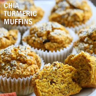 Turmeric Carrot Muffins Recipe