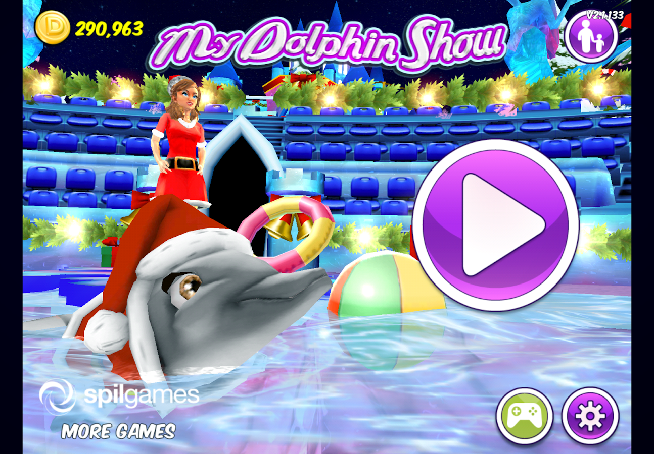 Screenshots of My Dolphin Show for iPhone