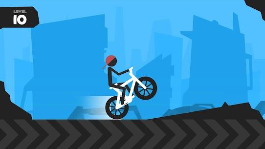 Wheelie Stickman Rider 2