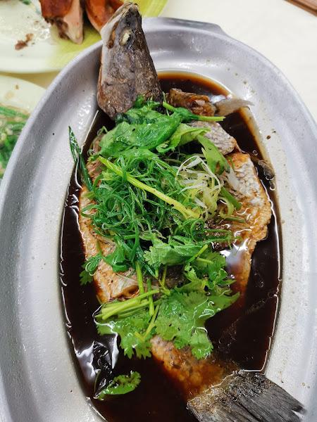 很難吃,肉老,湯很鹹也沒竹筍味,清蒸魚很鹹,肉也很乾,懷疑不是用新鮮魚現蒸的