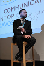 """Photo: Philippe Borremans -  final panel discussion: """"Chief Comms Officer's Role"""" Panel - 2012"""