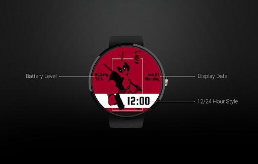 Watch Face: Deadpool