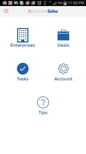 Indirect Sales Mobile App