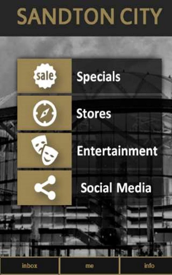 Sandton City App- screenshot