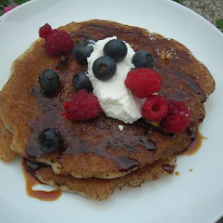 Fourth Of July Sourdough Pancakes