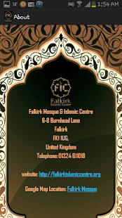 Falkirk Mosque Prayer Times- screenshot thumbnail