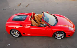 Ferrari 360 Spider Rent Rogaland