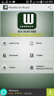 WealthCare Radio- screenshot thumbnail