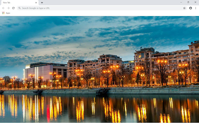 Bucharest New Tab & Wallpapers Collection