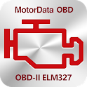 MotorData OBD Car Diagnostics. ELM OBD2 scanner icon