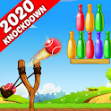 Bottle Shooting Game - Knock Down & Flip icon