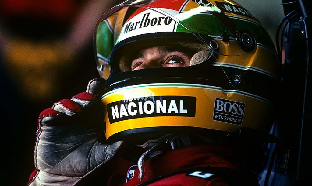 Casque Ayrton Senna