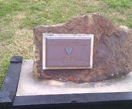 Photo: Metamora IN - historic plaque for Duck Creek Aqueduct