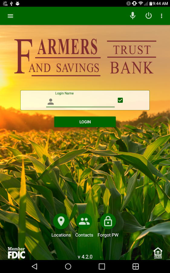 Farmers Trust & Savings Bank Mobile- screenshot