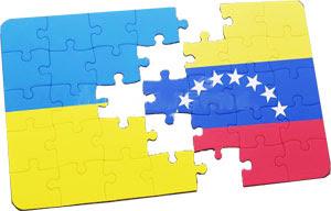 Венесуэла Украина пазл флаг