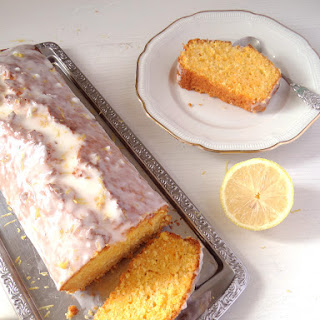 Carrot Coconut Cake with Lemon Frosting
