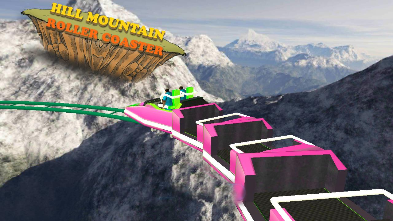 Hill Mountain Roller Coaster- screenshot