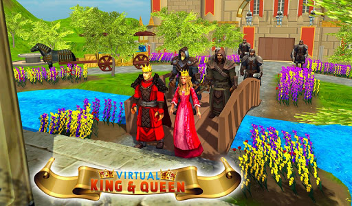 Virtual Billionaire Mom Dad King Queen Simulator  captures d'écran 2