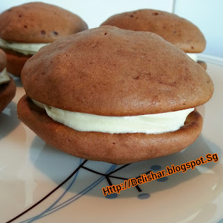 Milo Whoopie Pies with Condensed Milk Buttercream