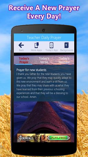 Teacher Prayer App
