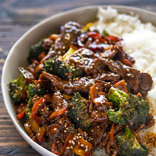 Quick 15 Minute Beef and Broccoli Stir Fry.
