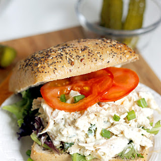 Lighter Ranch Chicken Salad Sandwich.