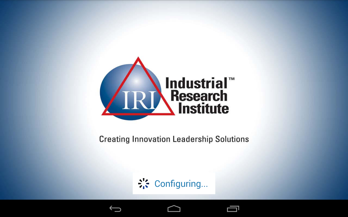 IRI Mobile- screenshot