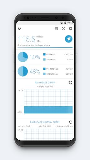 RAM Booster (Memory Cleaner) screenshot 3