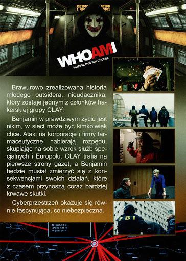 Tył ulotki filmu 'Who Am I. Możesz Być Kim Chcesz'