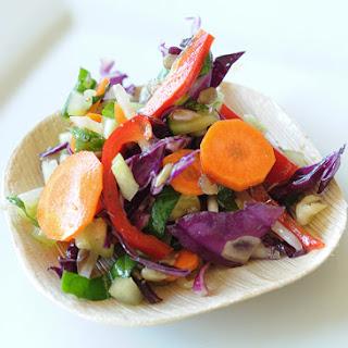 Raw Crunchy Salad.