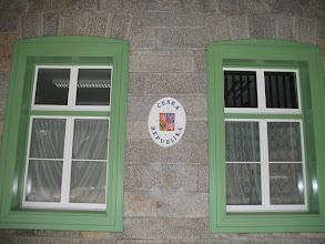 Photo: Tschechisches Wappen in Železná Ruda